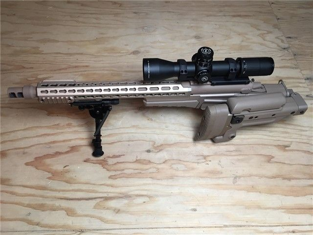 """Surgeon CSR The """"Concealable Sniper Rifle"""" uses the Accuracy"""