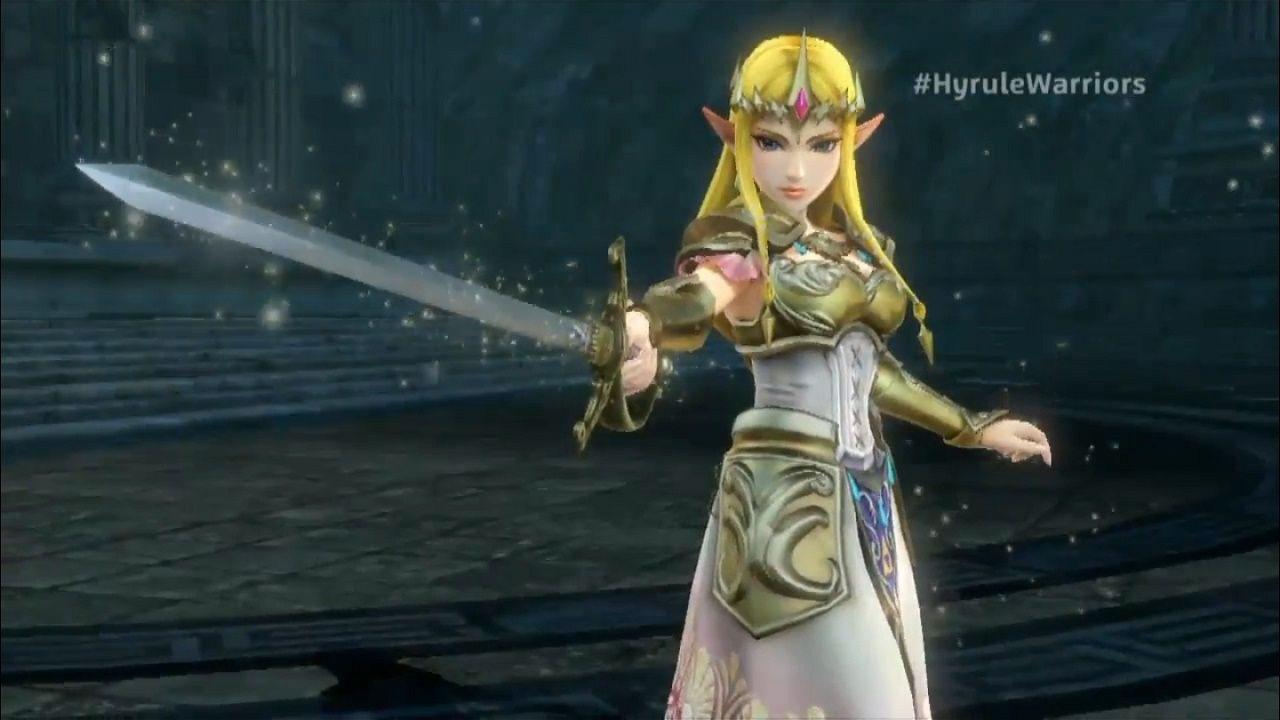 Video Game Trailer Hyrule Warriors Zelda And Impa Trailers Hyrule Warriors Zelda Hyrule Warriors Princess Zelda