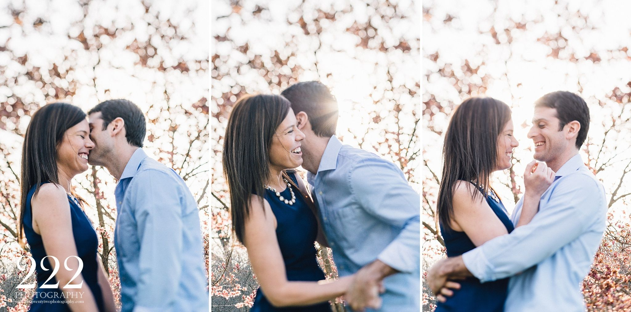 Short North engagement photography with 222 Photography in Columbus, Ohio.  www.twotwentytwophotography.com