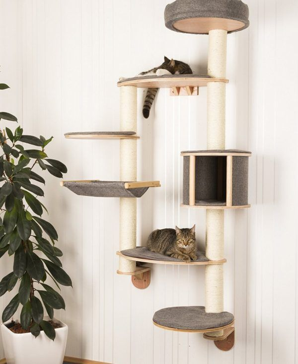 Wall Mounted Cat Tree Dolomit Xl Tofana, Wall Mounted Cat Furniture Uk