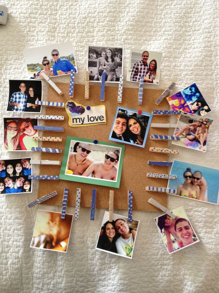 Photo clothespin cork board for him gift diy do it photo clothespin cork board for him gift diy do it solutioingenieria Images