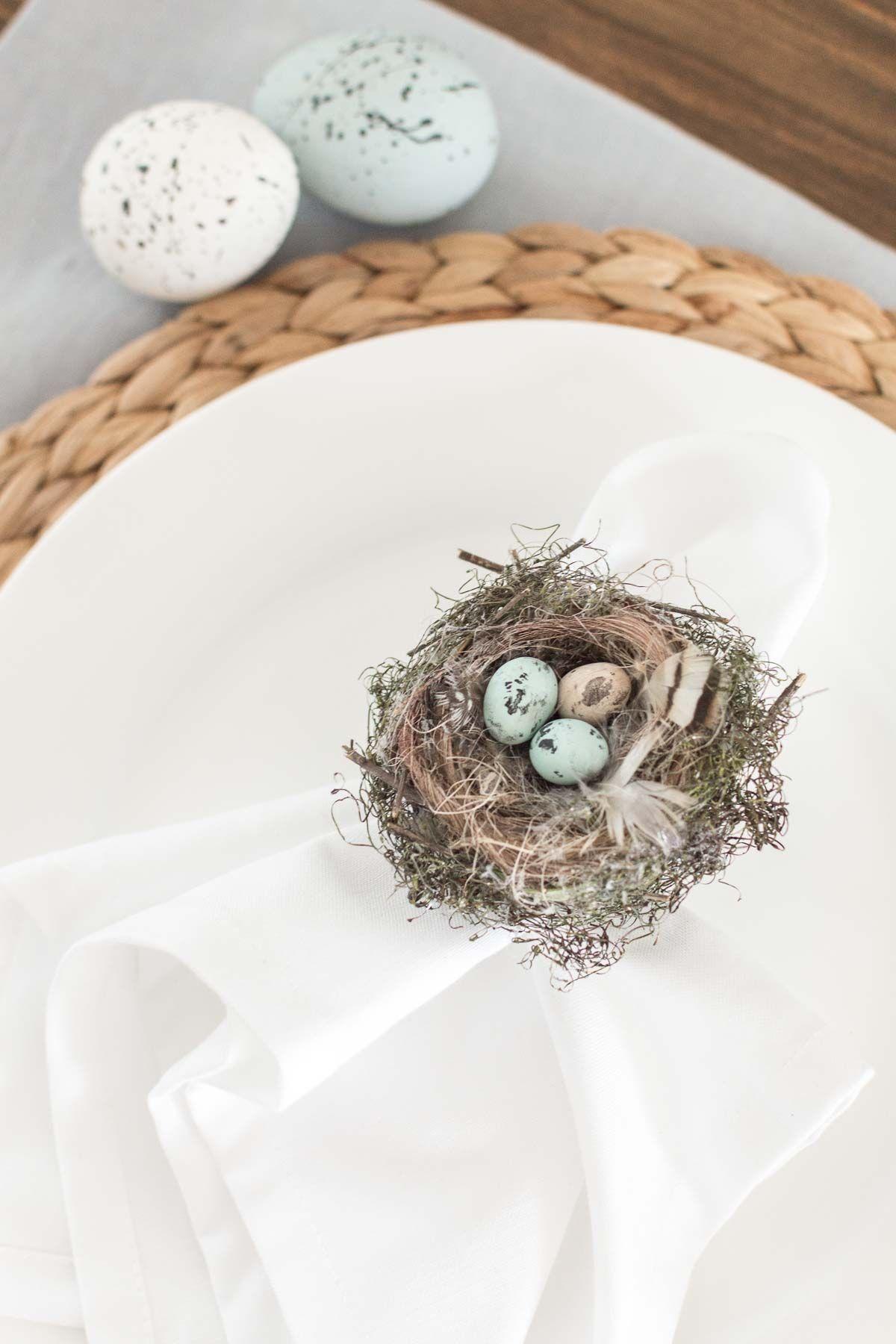 DIY Spring/Easter Napkin Rings Easter napkins rings