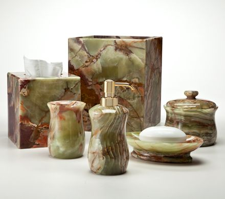 Onice Verde Contains Colorful Green Onyx With Streaks Of Rust