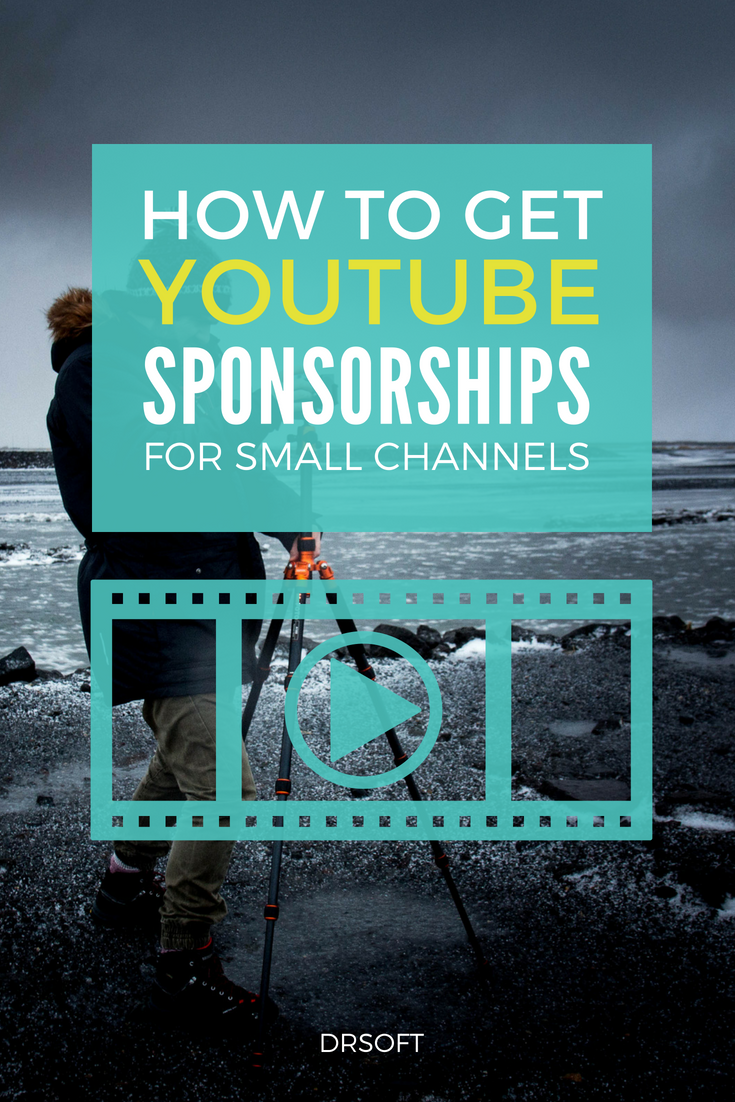 Youtube Sponsorship For Small Channels All You Need To Know Youtube Sponsorship Youtube Marketing Strategy Video Marketing Youtube