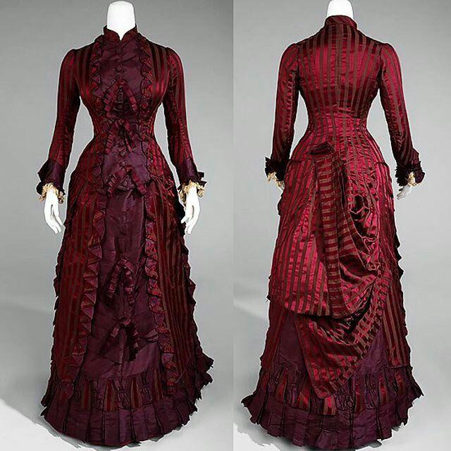 Wedding Dress, 1878, The Met