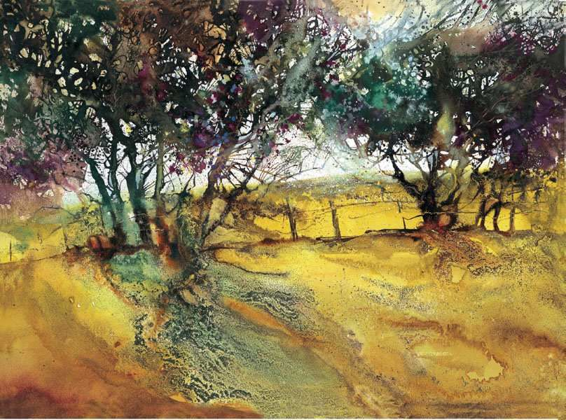 Experimental Landscapes In Watercolour Ann Blockley