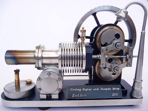 Stirling Engines - How They Work - YouTube | cool | Stirling engine