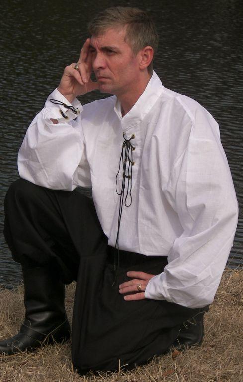 pirate shirt renaissance mens clothing