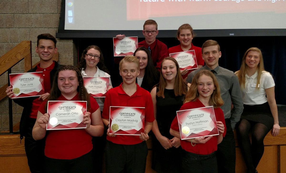 Lincoln FCCLA members qualify for state Lincoln, Members
