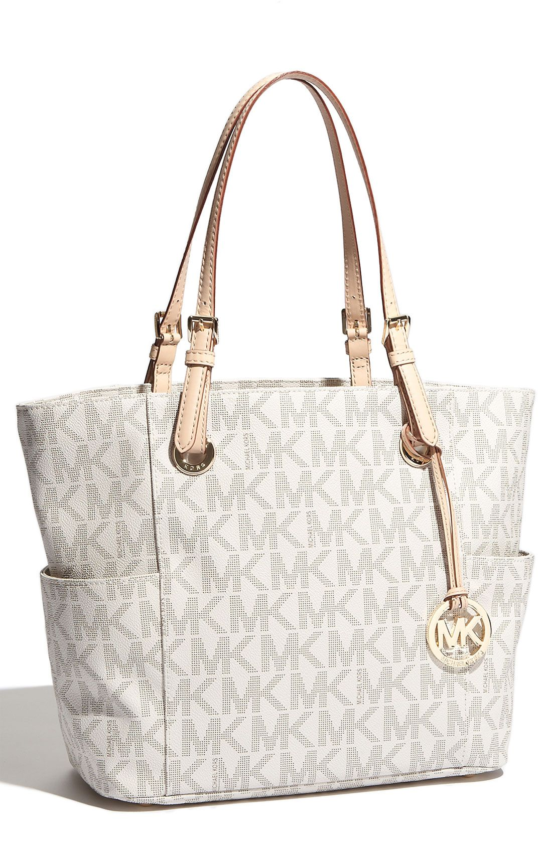 0ba820b8a4b8 The perfect travel companion | Michael Kors 'Jet Set Signature' tote ...