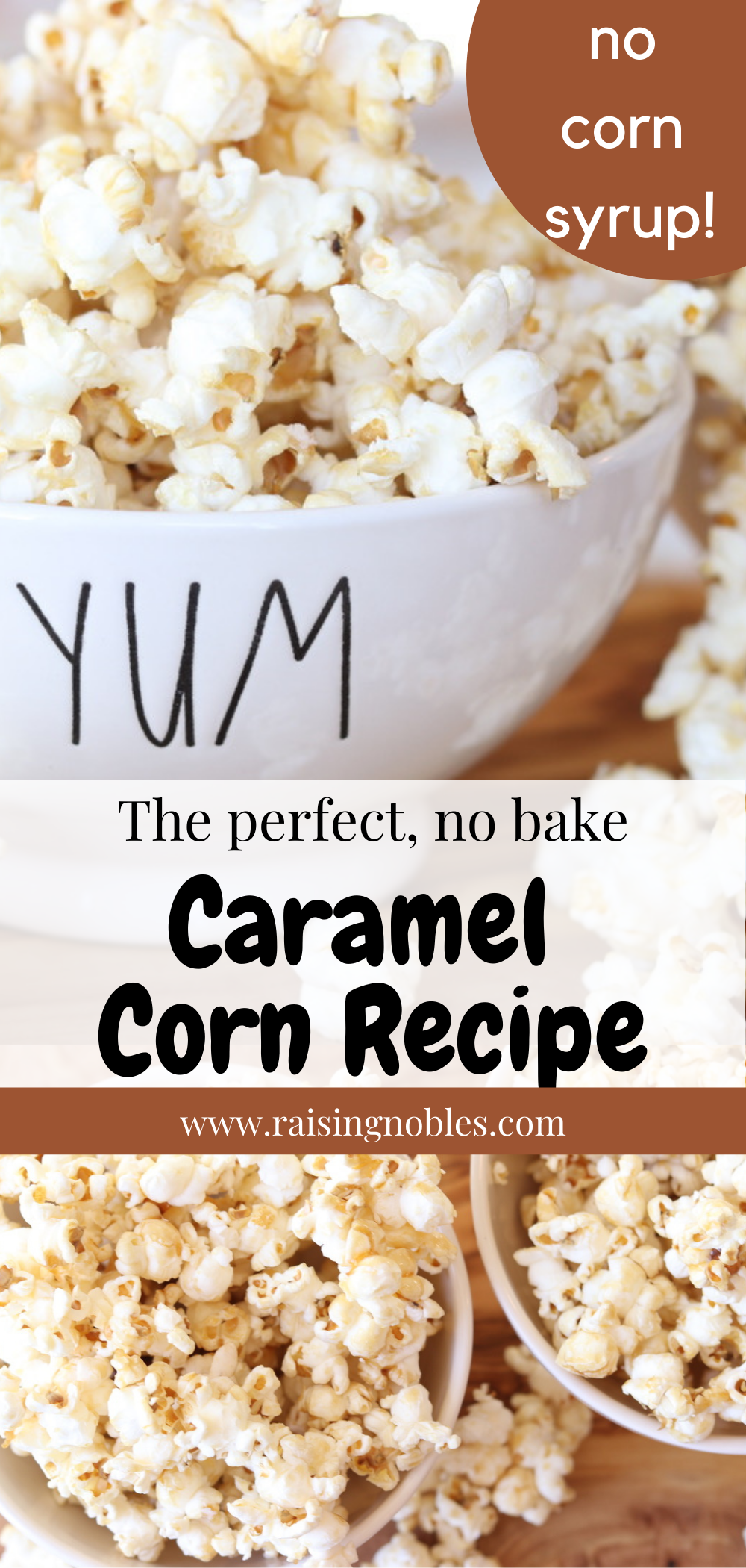 Caramel Popcorn Without Corn Syrup Raising Nobles Recipe Corn Recipes Caramel Corn Recipes Caramel Recipe Without Corn Syrup