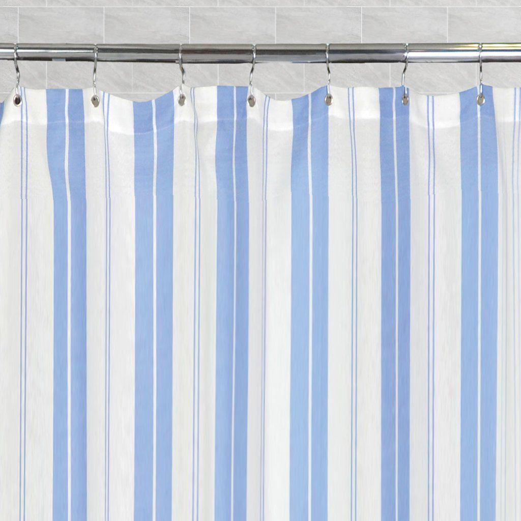 The Coastal Striped Shower Curtain One Size In 2020 Curtains Luxury Towels Shower