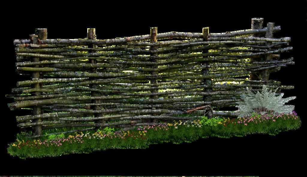 Weaved Wooden Fence Png By Https Www Deviantart Com Aledjonesdigitalart On Deviantart Wooden Fence Wooden Fence Panels Building A Fence
