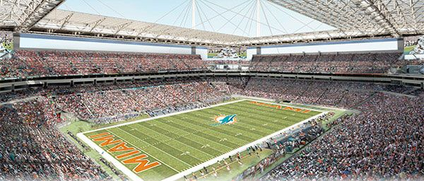 Stadium modernization has begun! #FinsUp