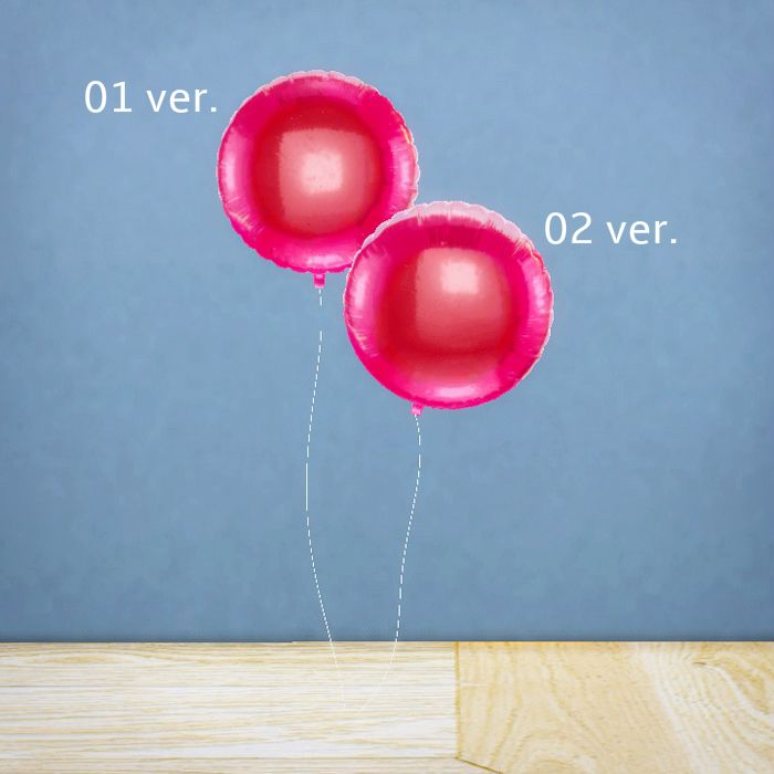 最近想學的東西一直弄得很不順 決定先做點小裝飾品轉換一下心情_(┐「ε:)_ Foil Balloons ▪Deco (Plant Category) ▪11 Designs ▪Mesh by me (High…