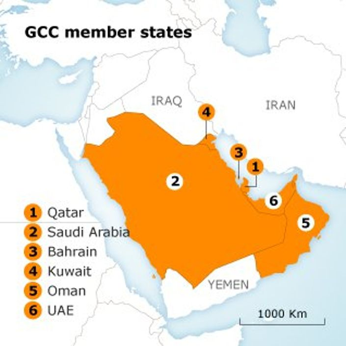the arab spring has encouraged the gcc mainly saudi arabia and qatar to play