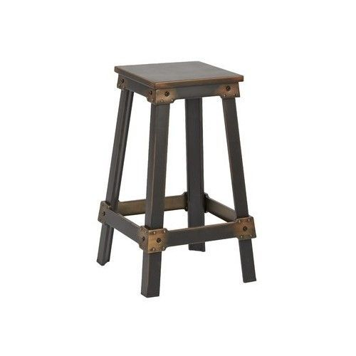 Rustic Bar Stools Industrial Metal Stool Kitchen Counter Height