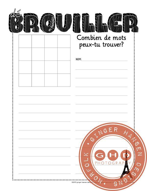 boggle en francais