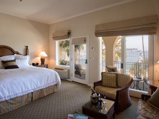 Ocean View Suite At Hotel Vista Del Mar Catalina Island Santa Fine