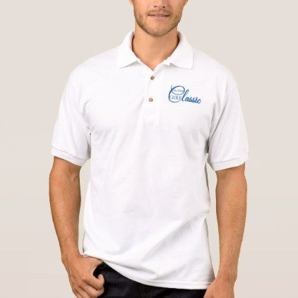 Steve Mitchell Golf Classic Polo Shirt-front only - classic gifts gift ideas diy custom…