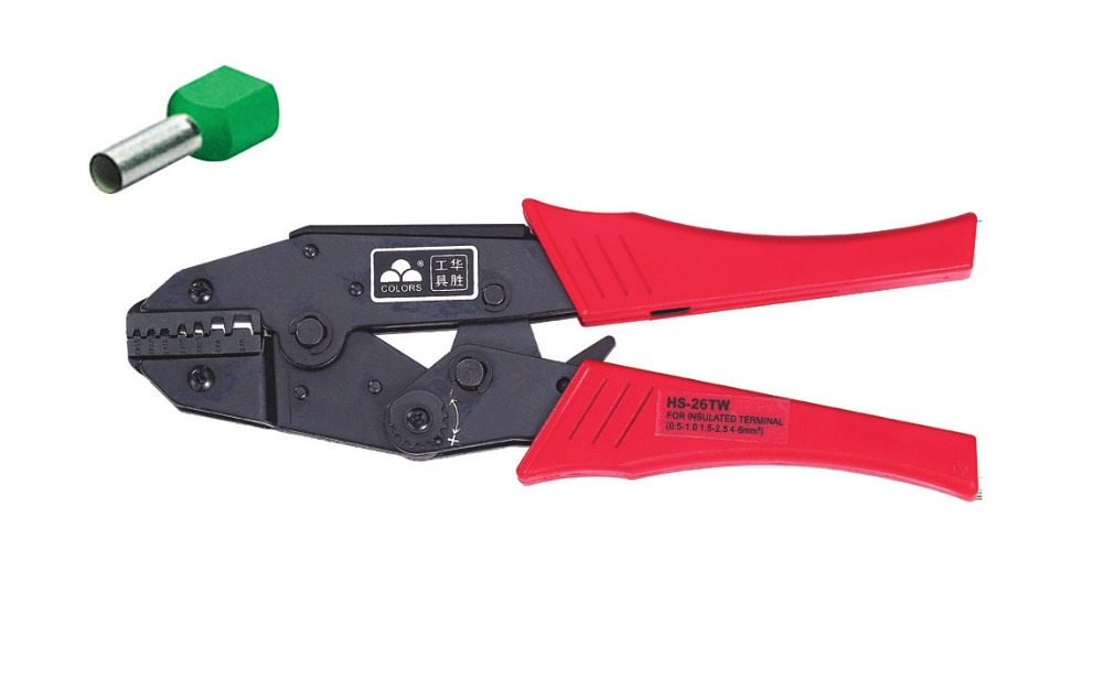 28.27$  Buy here - http://aihwi.worlditems.win/all/product.php?id=32382217547 - Ratchet crimping plier0.5-6.0mm2  AWG20-10 terminals crimping tools  multi crimping pliers(EUROPEAN STYLE))