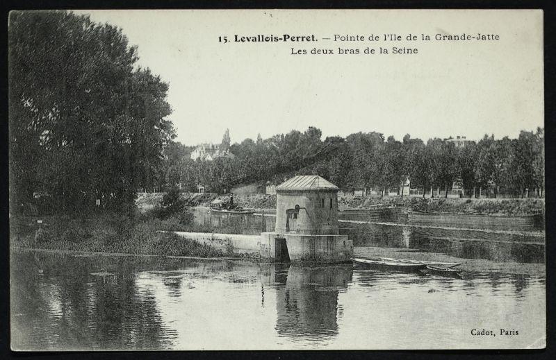 Pointe De L Ile De La Grande Jatte Les Deux Bras De La Seine A