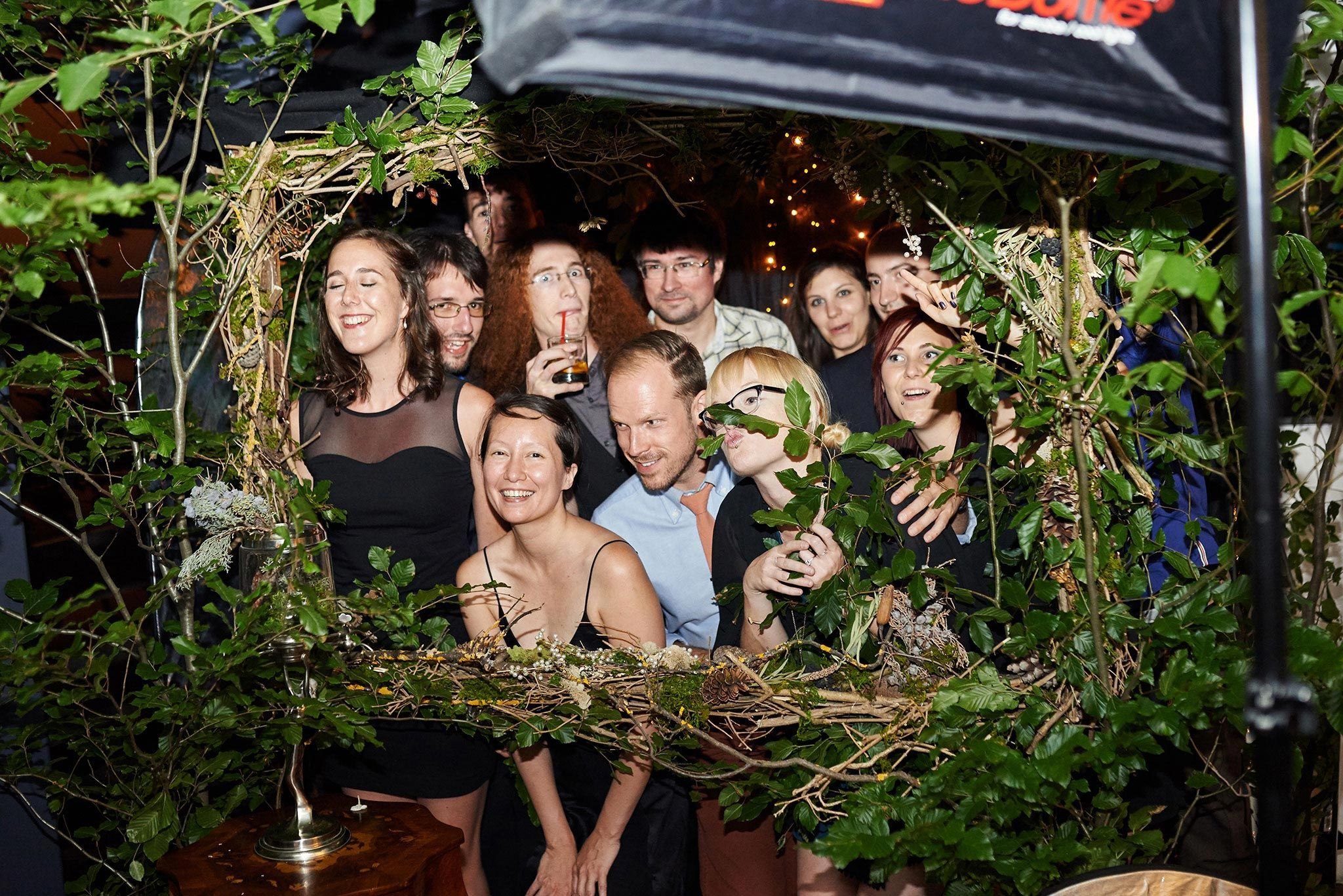 Enchanted forest photo booth! | Photo Booth in 2019 ...