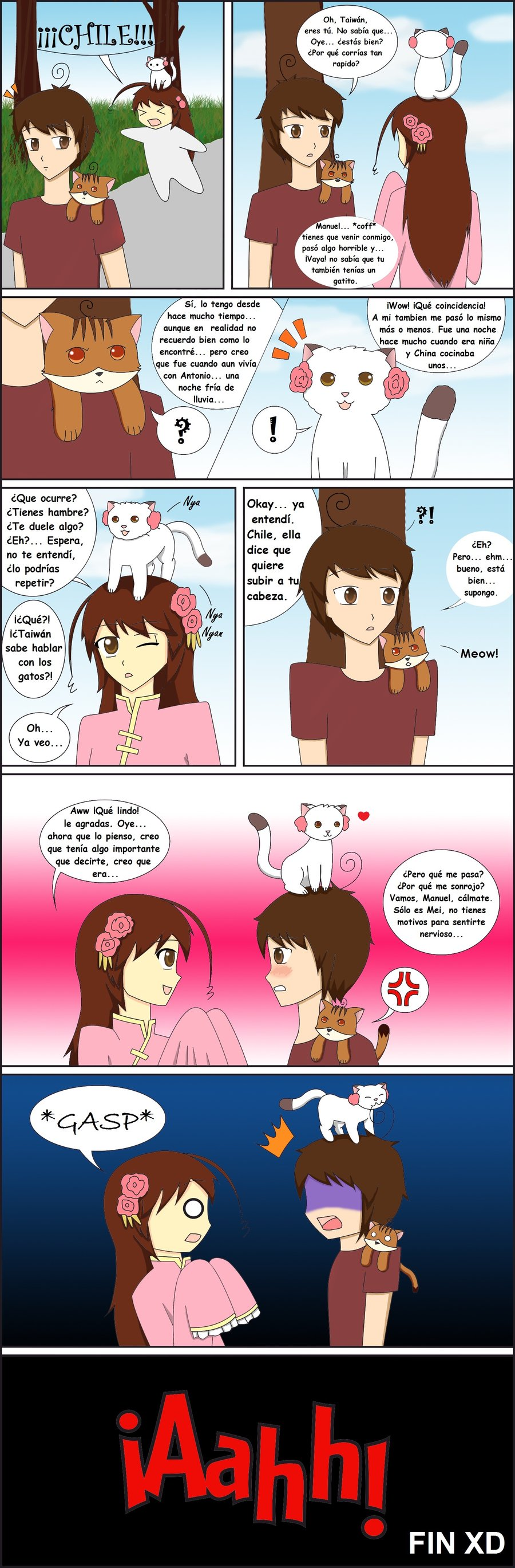 APH-HTRM comic: Bad Kitty by sayuri12moonlight.deviantart.com on @deviantART