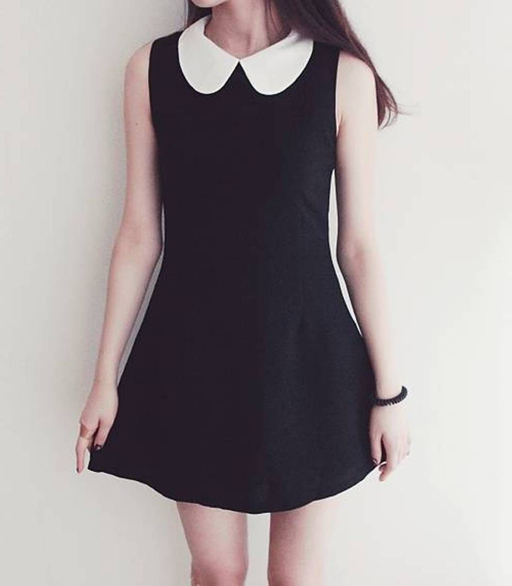 Peter pan style dress