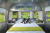 Christopher C. Deam designed the interior of the Airstream Sterling Concept Trailer.