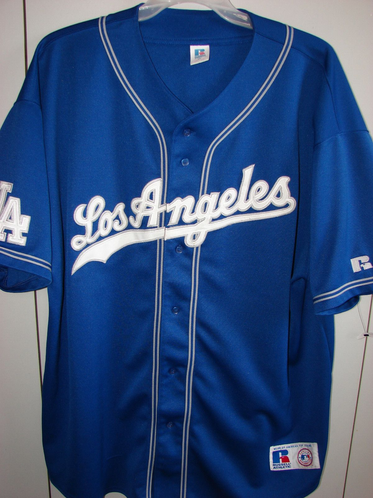 the latest 916fe 4d578 Los Angeles Dodgers Alternative Blue Jersey 1999-2001 ...