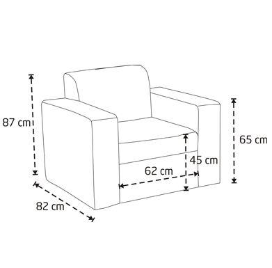 sofa chair measurements