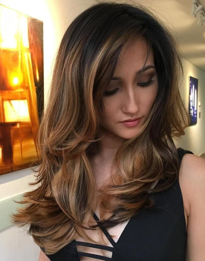 most beneficial haircuts for thick hair of any length brunette