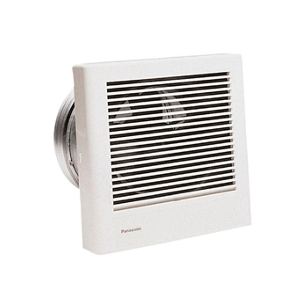 Panasonic Whisperwall 70 Cfm Wall Exhaust Bath Fan Energy Star Fv 08wq1 Bathroom Exhaust Fan Panasonic Bathroom Fan