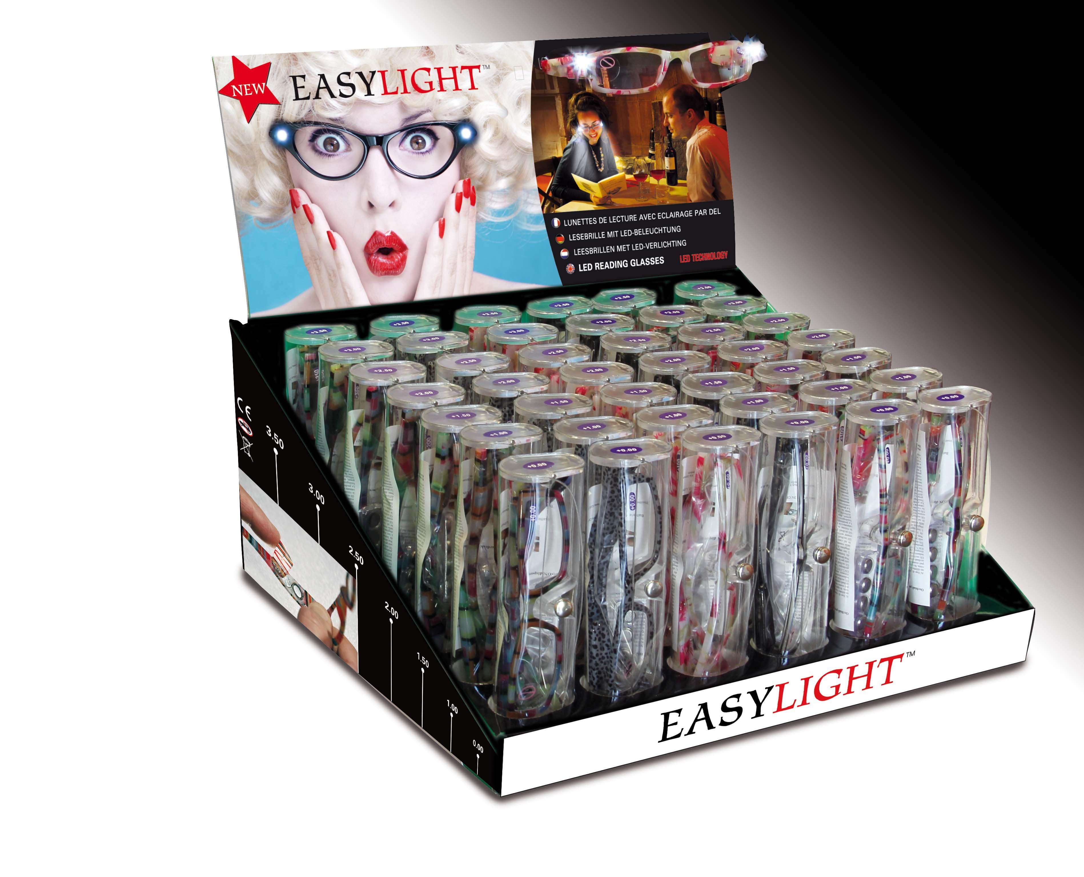 bf1bddd8e5f EasyLight LED Lighted Readers. Illuminated reading glasses