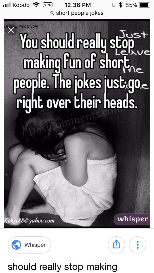 short people puns