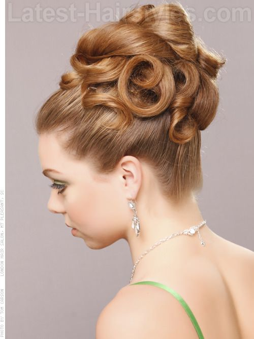 Updos For Long Hair Cute Easy Updos For 2020 Big Hair Updo Long Hair Styles Hair Styles