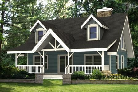 Linwood Cabin Small Home Plans Under 1500 Sq Ft Nesting