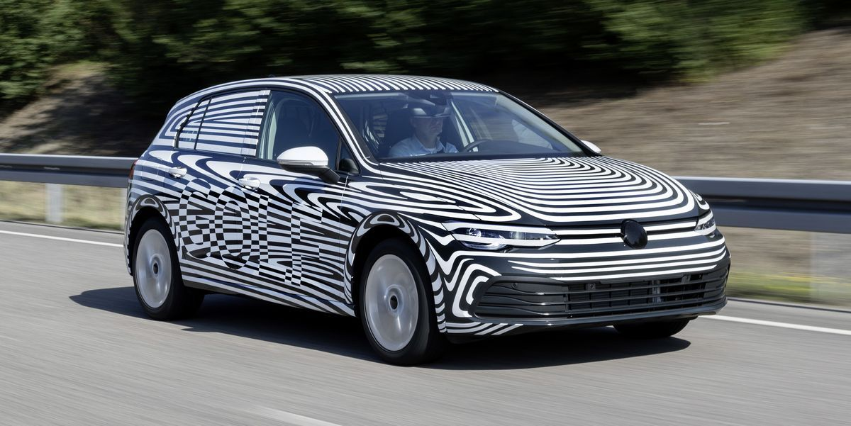 Volkswagen Shows The Mark 8 Golf Hatchback In Prototype Form