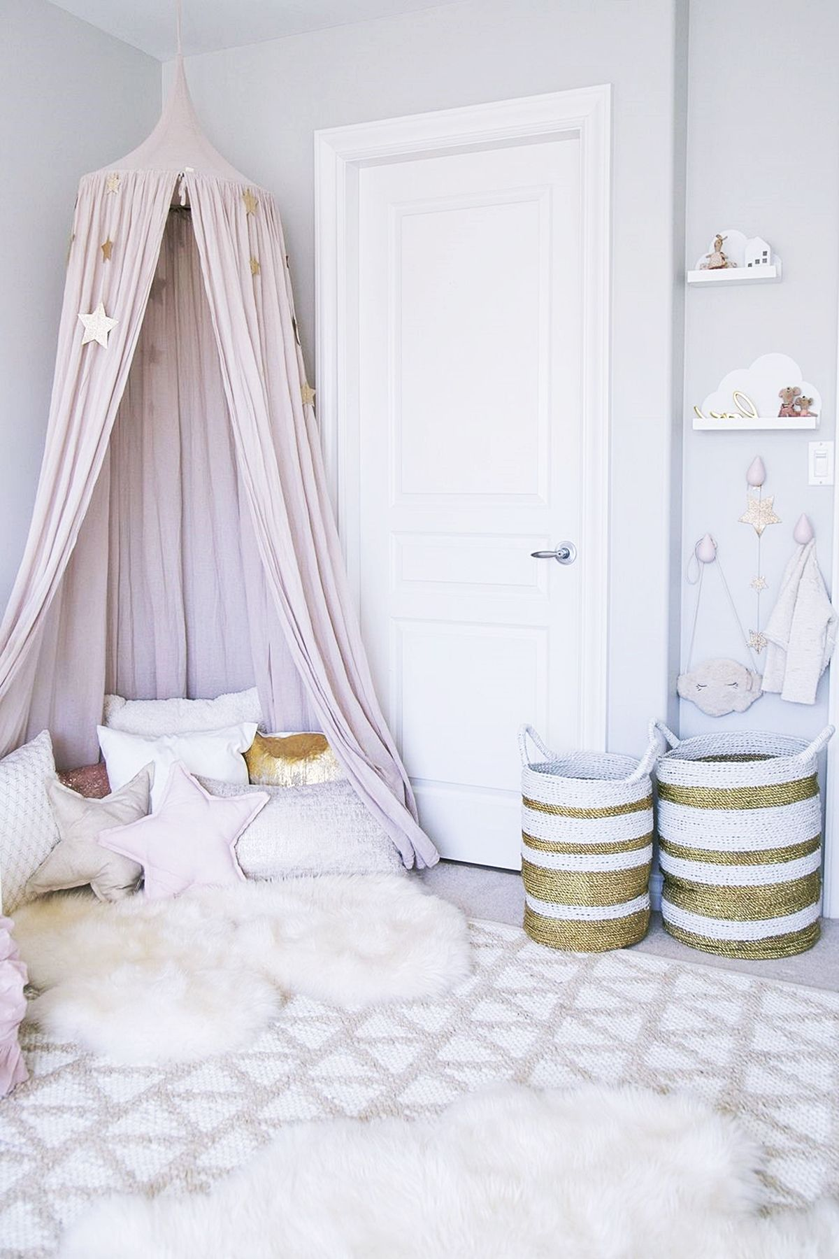 Girl Bedroom Ideas With Canopy Trends 2020 Enchanting Mermaid