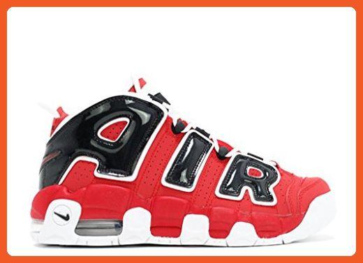 77075b4abb068 Nike Kids Air More Uptempo Retro Basketball Shoes Varsity Red-White ...