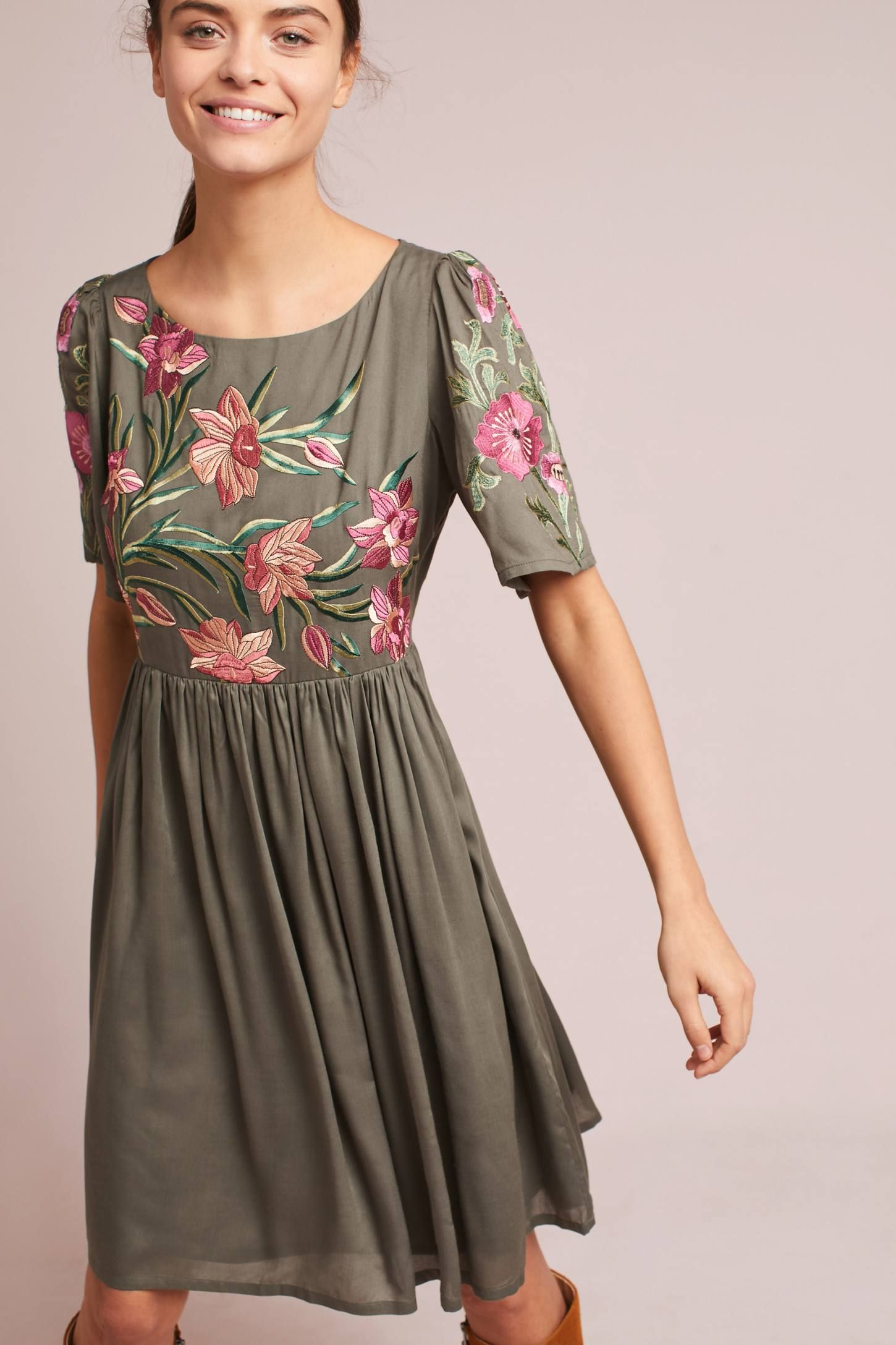 72de8ab27b200 Shop the Aika Embroidered Dress and more Anthropologie at Anthropologie  today. Read customer reviews, discover product details and more.
