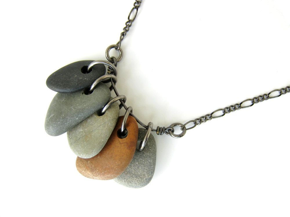 How To Drill Small Beach Stones Natural Stone Jewelry Rock Jewelry Pebble Jewelry