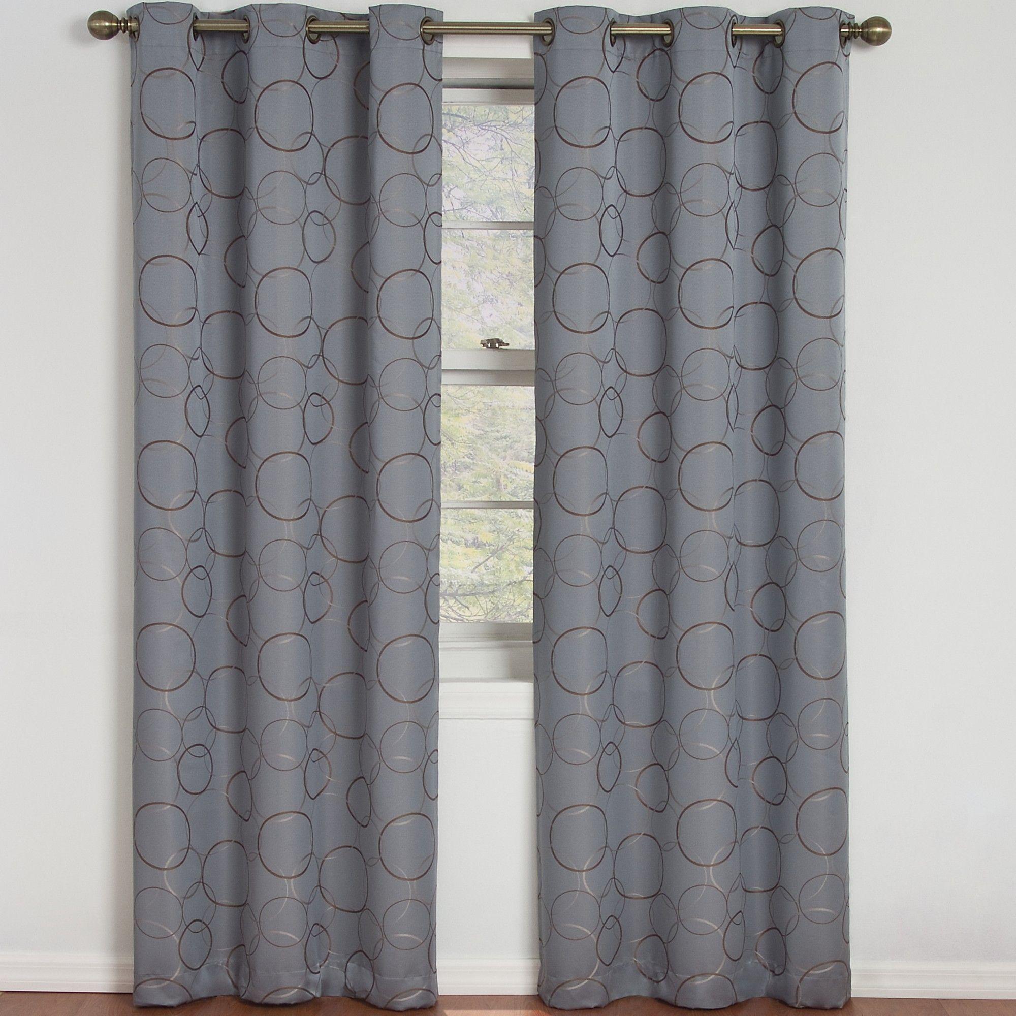 Meridian grommet window curtain single panel allmodern window