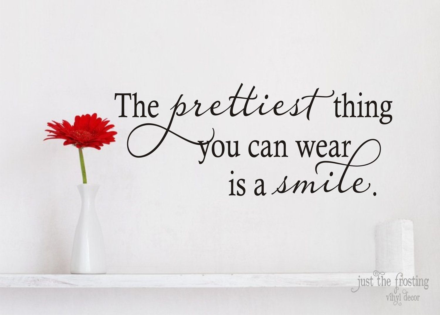 The prettiest thing ... is a smile :) #coachbarn #quotes ... for Smile Quotes And Sayings For Girls  268zmd