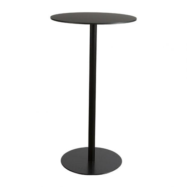 Stehtisch Brio Schwarz O60 H110 Cm Stehtisch Hochtisch Tisch