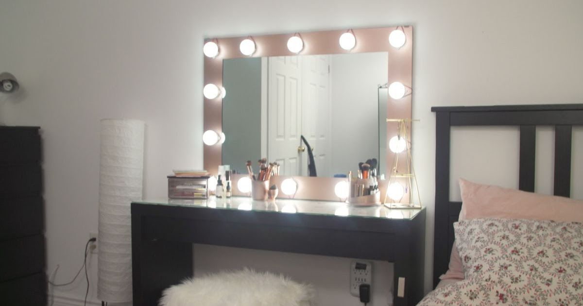 Best Of Cheap Diy Vanity Mirror With Lights In 2020 With Images