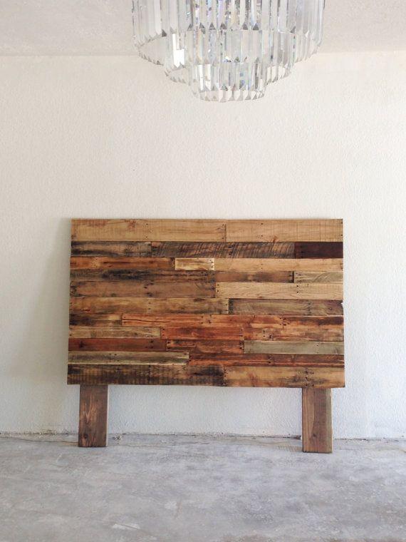 Reclaimed wood headboard head board king queen full twin cali ...