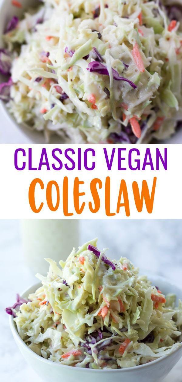Vegan Coleslaw vegan coleslaw recept