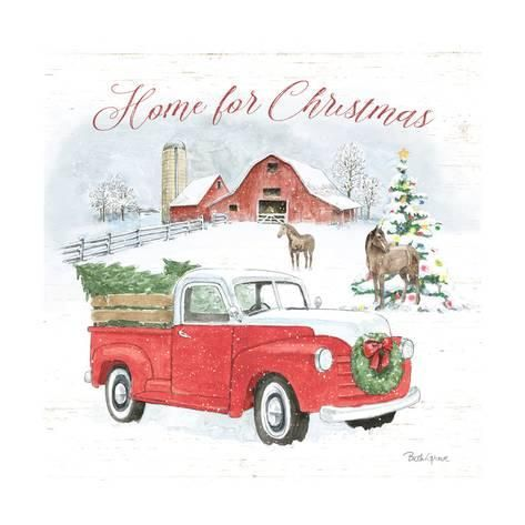 Farmhouse Holidays Vii Art Print Beth Grove Art Com In 2021 Canvas Wall Art Trademark Fine Art Metaverse Art